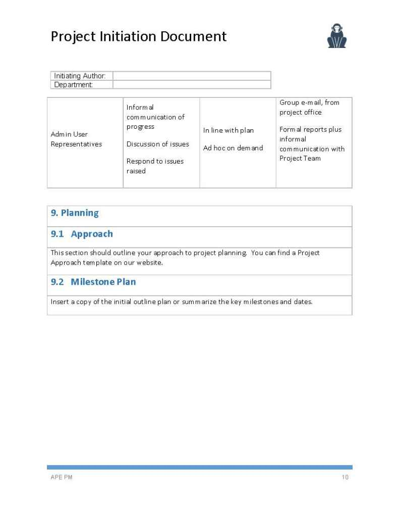 how to document template